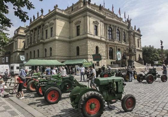 Traktory Svoboda u Rudolfina