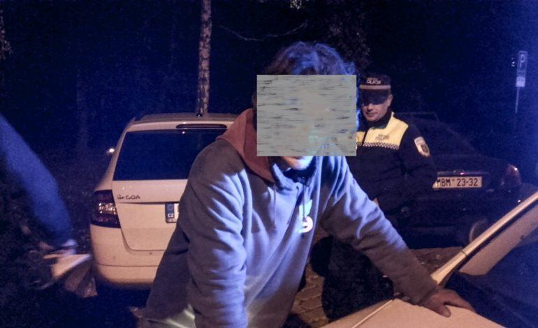 Zadržený muž Mladá Boleslav