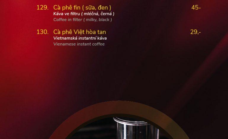 PHO VIET menu - Ptácká Mladá Boleslav