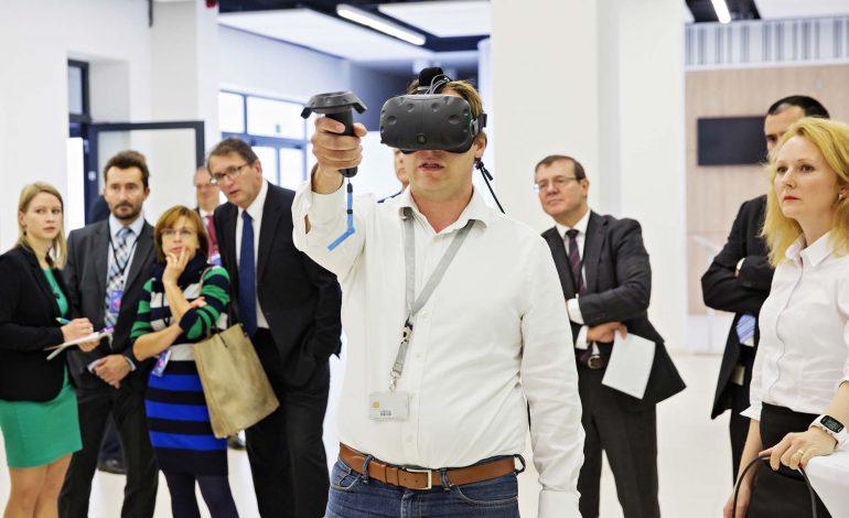 virtuální realita, výročí 90 let odborného vzdělávání ve Škoda Auto
