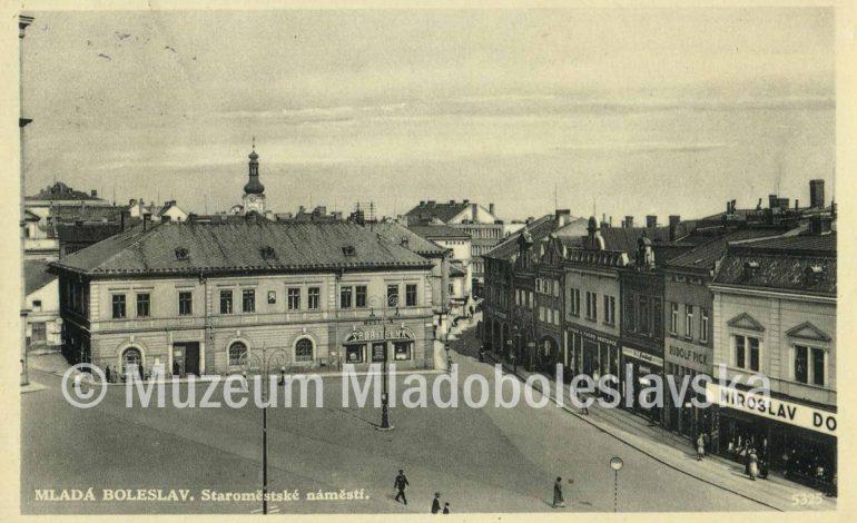 Prvorebubliková Mladá Boleslav - Staroměstské náměstí