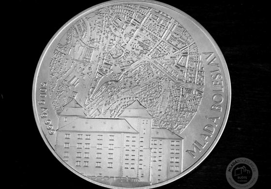 Stříbrná medaile STATUTÁRNÍ MĚSTO MLADÁ BOLESLAV