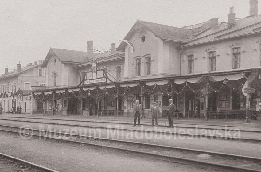 Prvorepubliková MB – Hlavní nádraží