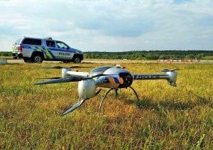 Policejní drony