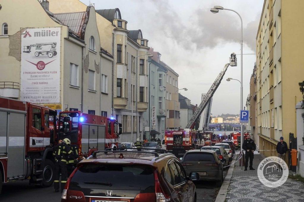 Požár Mladá Boleslav, Palackého