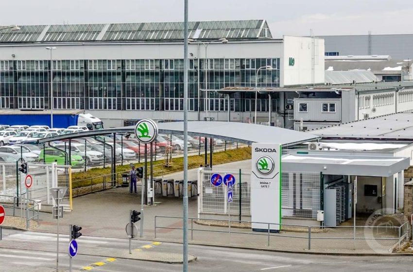 Počty nakažených zaměstnanců ve Škoda Auto postupně klesají