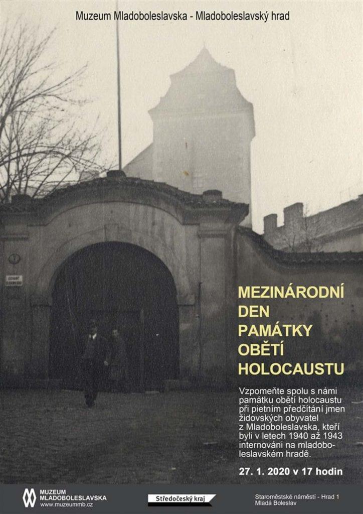Na nádvoří mladoboleslavského hradu se bude opět vzpomínat na oběti holocaustu