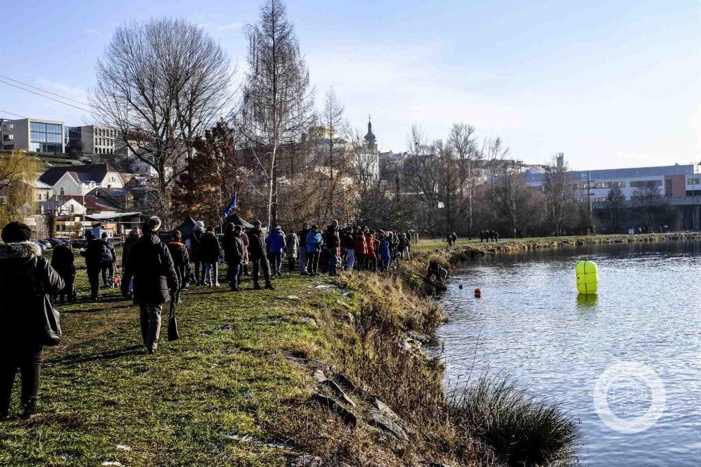 1. ročník soutěže zimních plavců na Jizeře, Mladá Boleslav