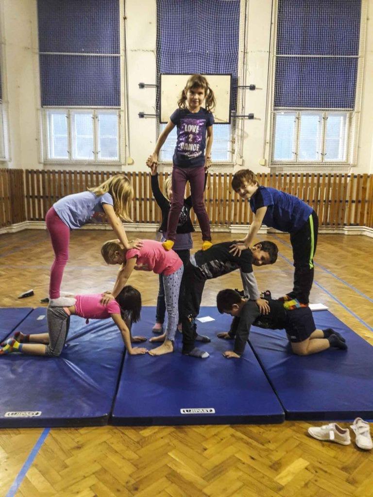 Cirkocvik - nový kroužek pro děti