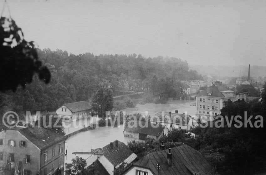 Prvorepubliková MB – Povodeň 1926