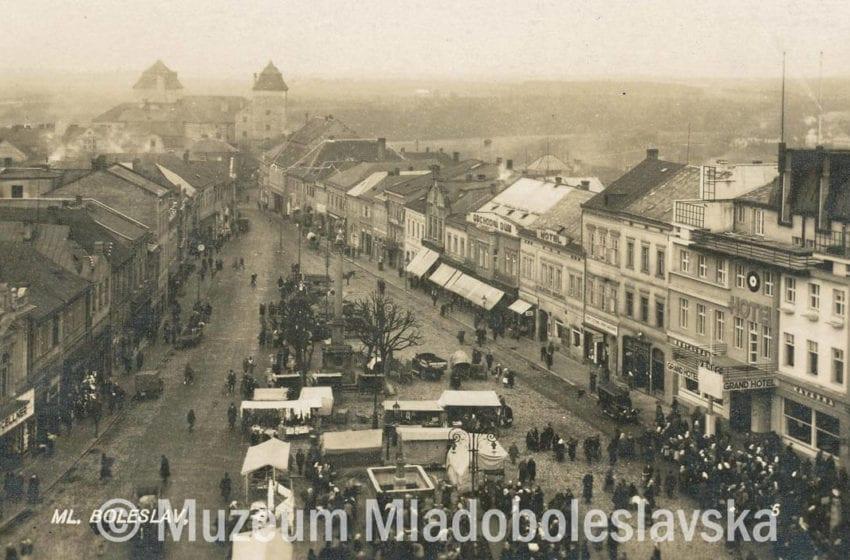 Prvorepubliková MB – Staroměstské nám.