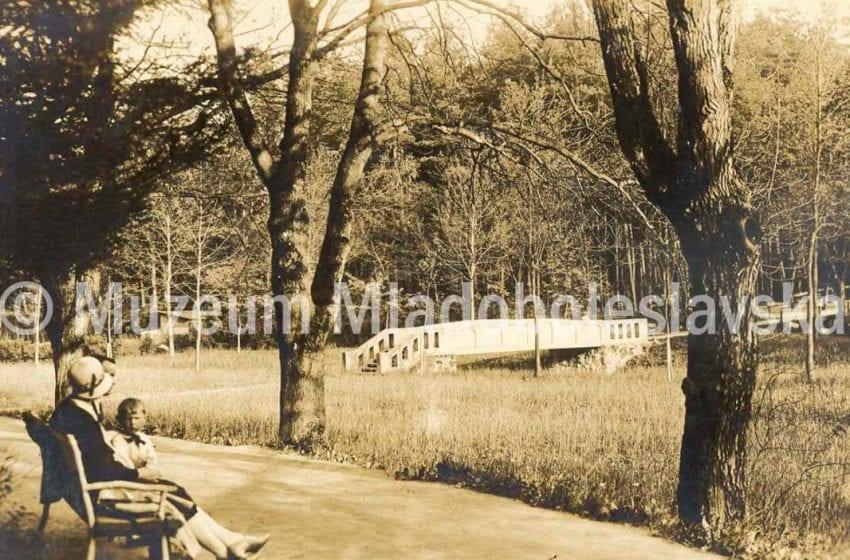 Prvorepubliková MB – park Štěpánka