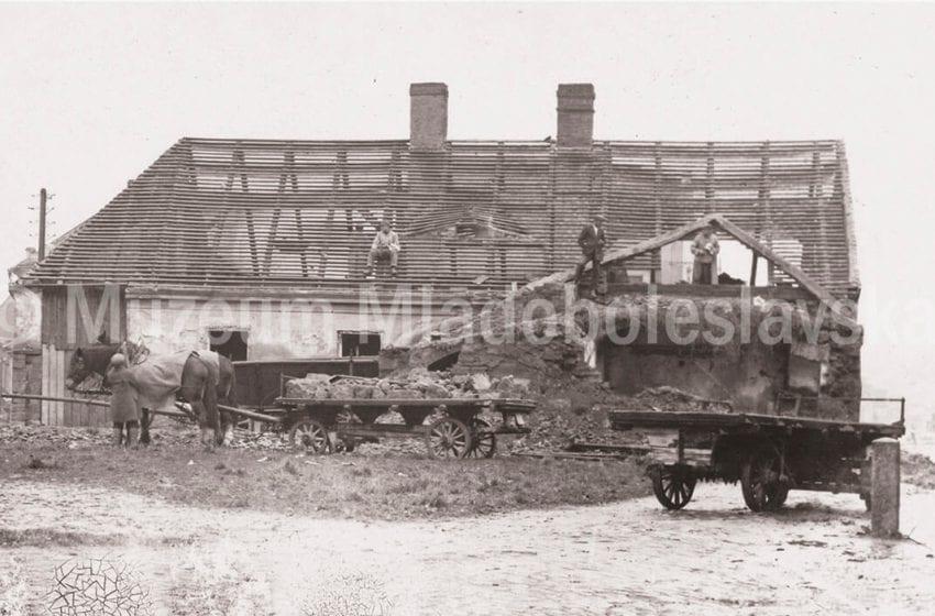 Prvorepubliková MB – pozůstatky stodol