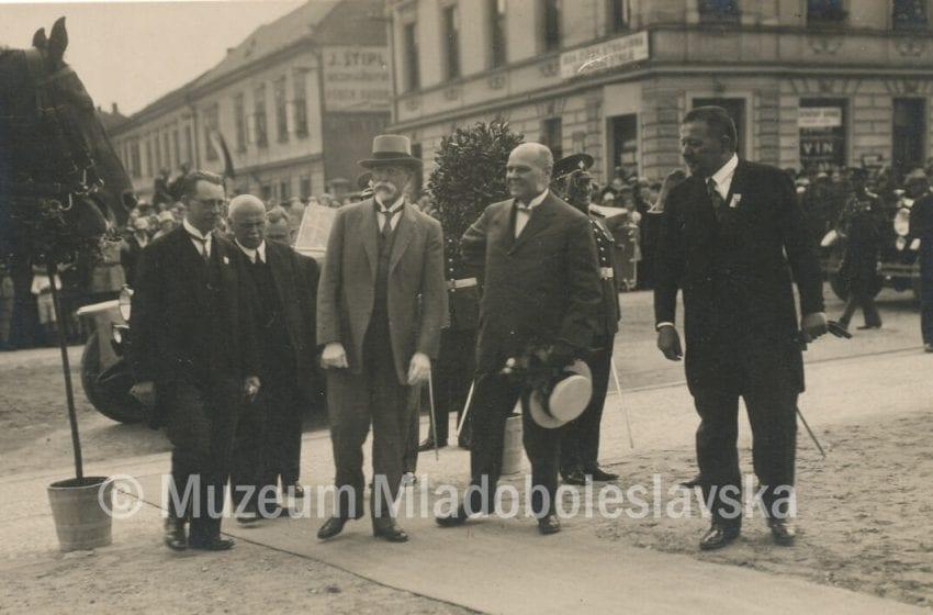 Prvorepubliková MB – T.G. Masaryk