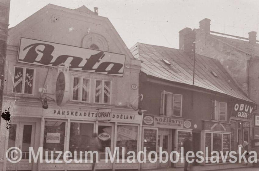 Prvorepubliková MB – Železná ulice