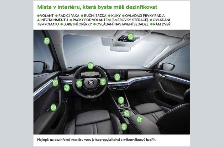 Doporučení od Škoda Auto. Jak se chránit ve voze před koronavirem?