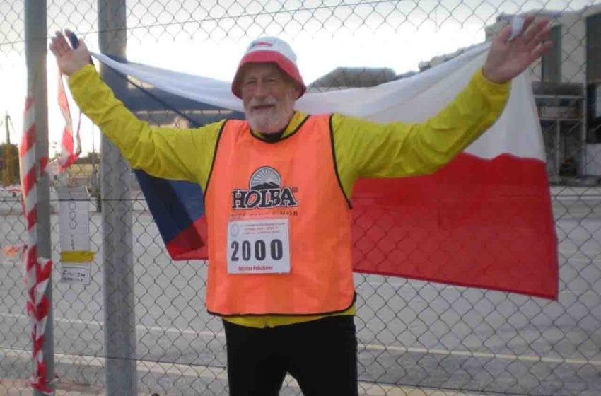 Rekordní ultramaraton 65letého Boleslaváka