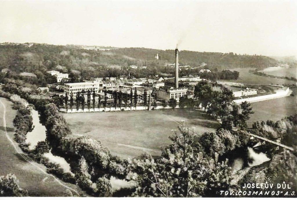 Továrna Josefův Důl
