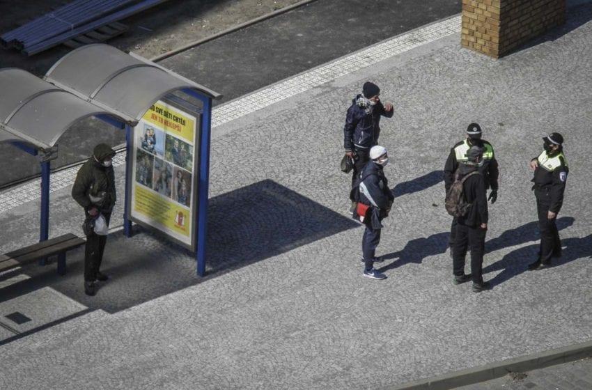 Strážník městské policie zasahoval vůči agresivnímu muži
