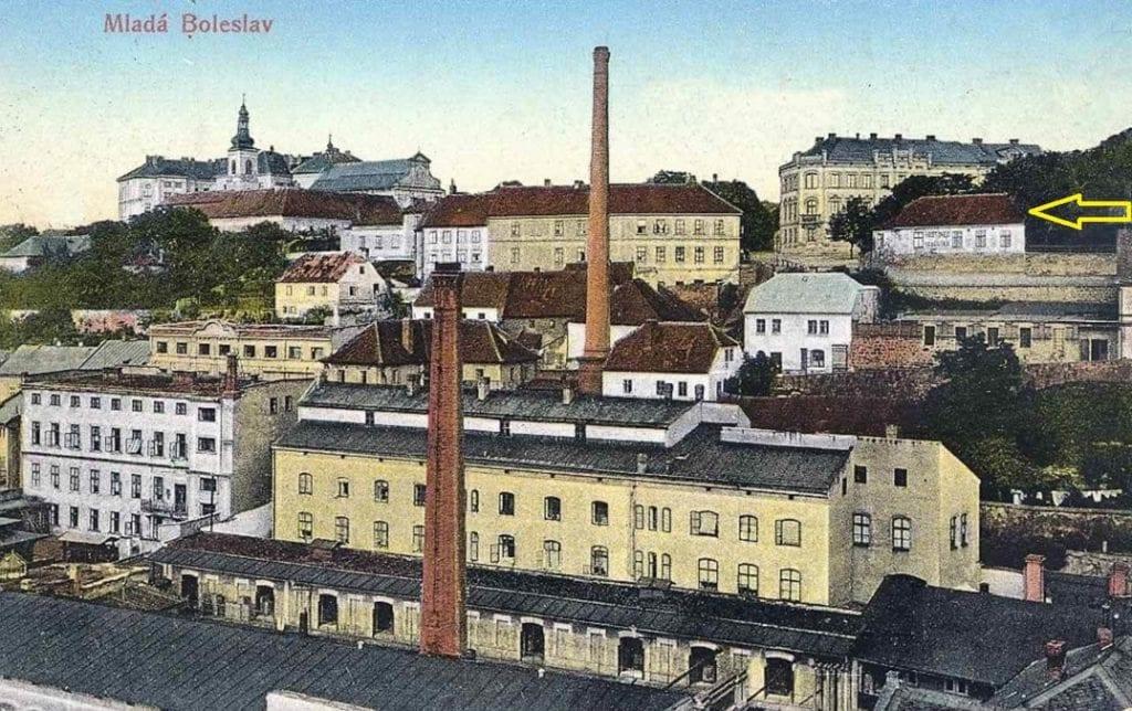 Hostinec Kohoutka Michalovické náměstí Mladá Boleslav