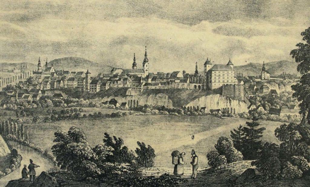 Mladá Boleslav 19. století