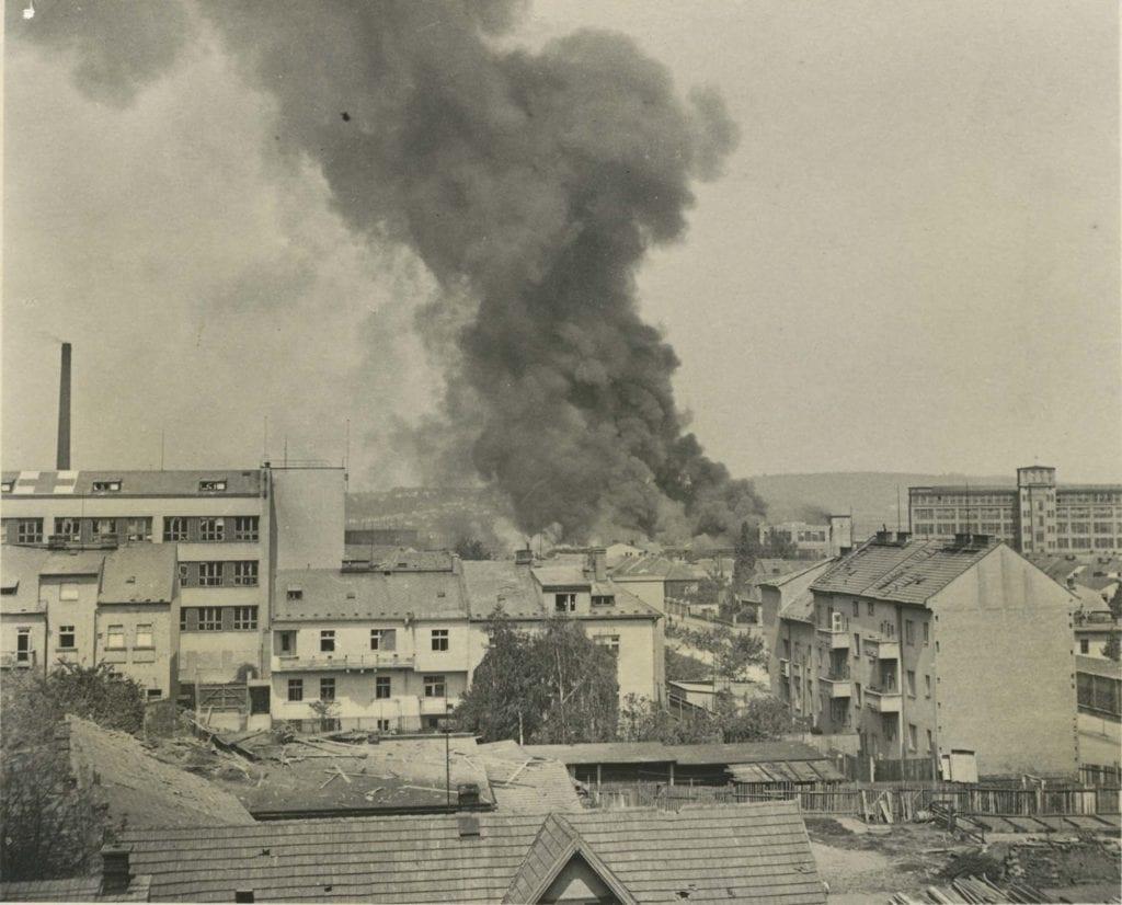Bombardování Mladé Boleslavi 1945 ŠKODA AUTO