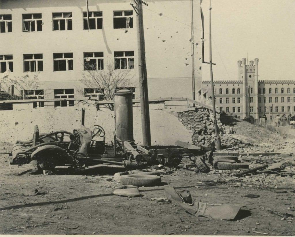Bombardování Mladé Boleslavi 1945 Na Celně