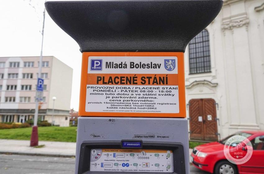 V Mladé Boleslavi bude opět zpoplatněno parkování