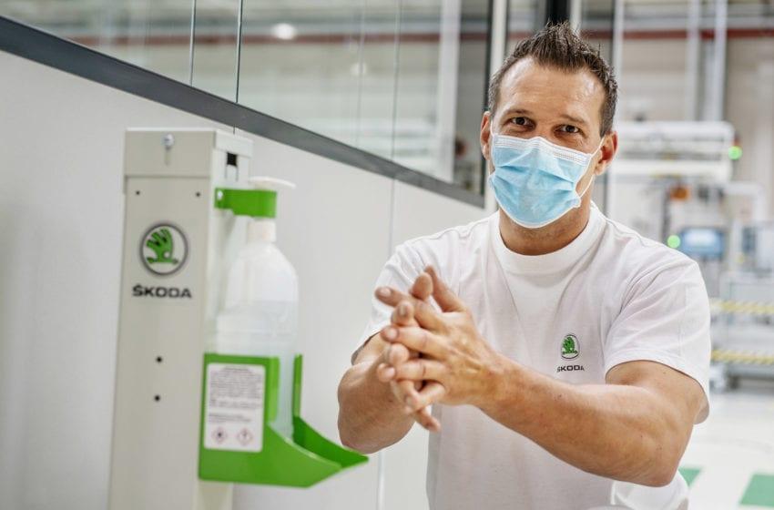 Video: Bezpečnostní opatření ve výrobě Škoda Auto