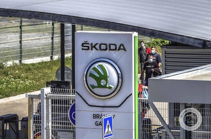 Závody Škody Auto přidají v pondělí ve výrobě třetí směnu