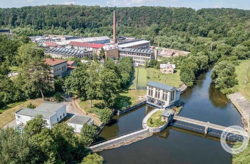 Malá vodní elektrárna v Josefodole v Mladé Boleslavi
