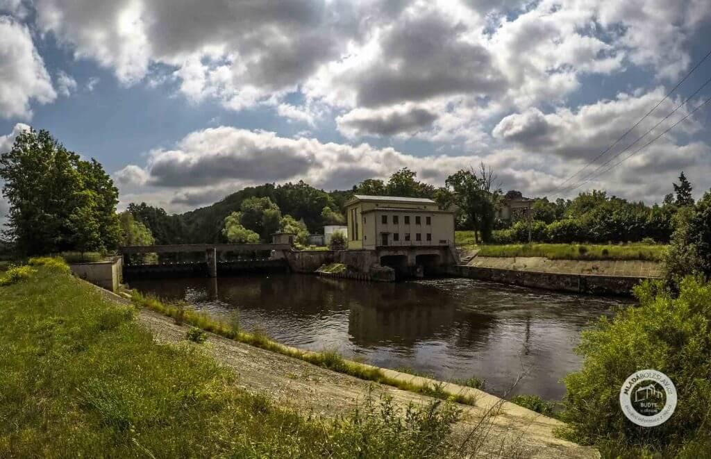 Malá vodní elektrárna v Josefově Dole u Mladé Boleslavi