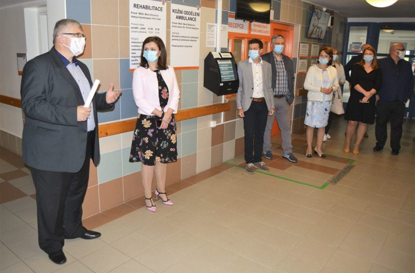 Klaudiánova nemocnice zahájila poslední etapu rekonstrukce pavilonu