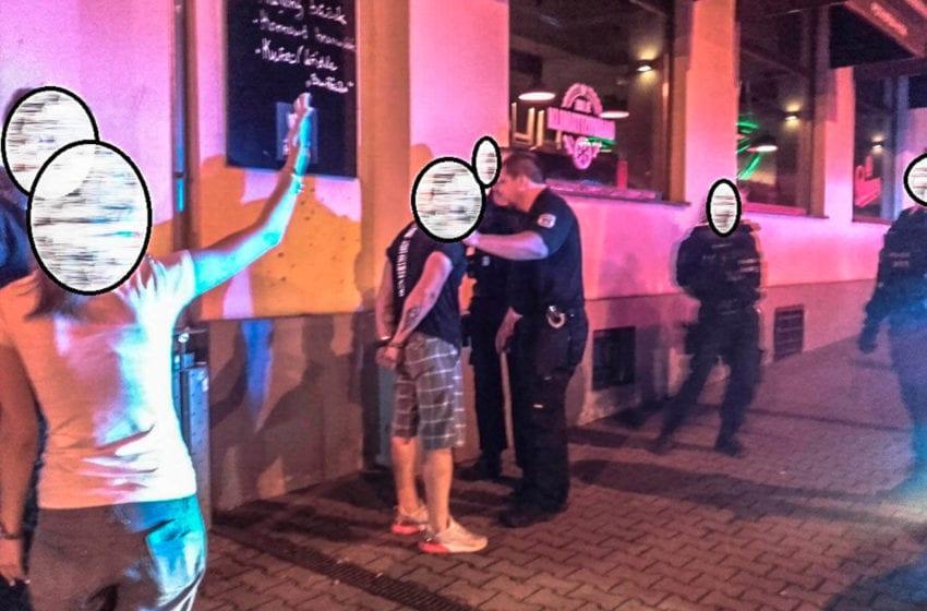 Strážníci řešili rvačku, výtržnictví a rušení nočního klidu