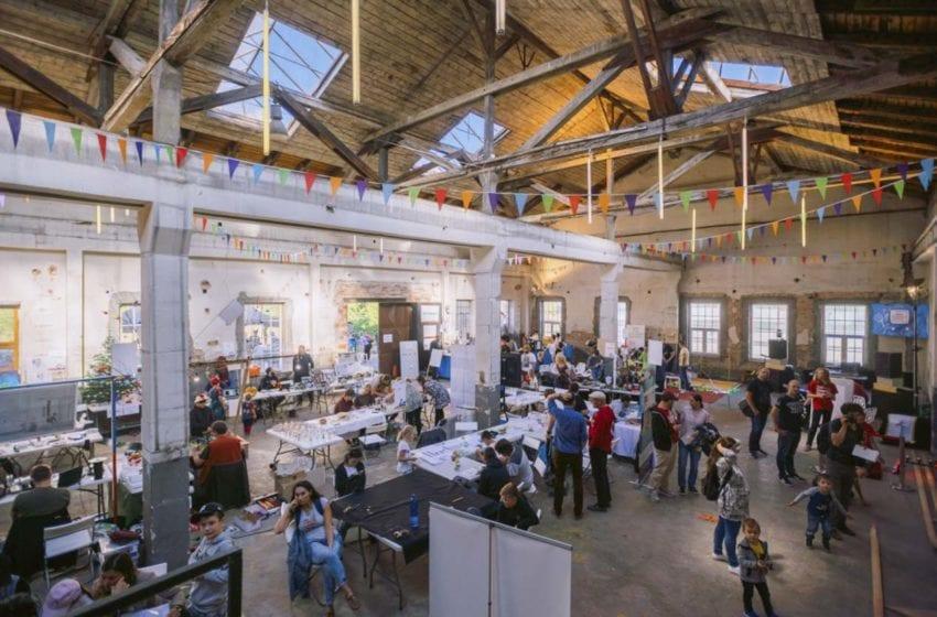 Pluhárna ožije opět festivalem Maker Faire