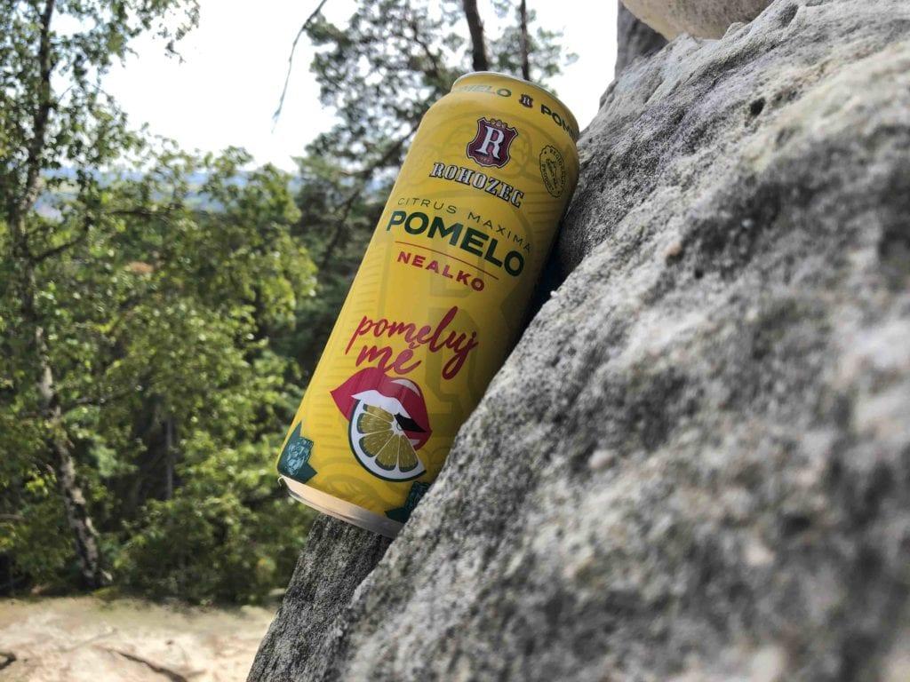Pivovar Rohozec - nealko Pomelo