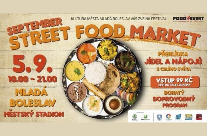 Street Food Market v Mladé Boleslavi: Ochutnejte jídla z různých koutů světa