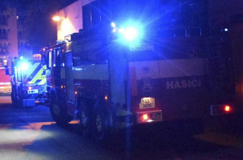 Požár kotelny rodinného domu v Březně zaměstnal tři jednotky hasičů