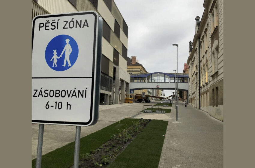 Proměna ulice Palackého v Mladé Boleslavi. Rekonstrukce i změna režimu