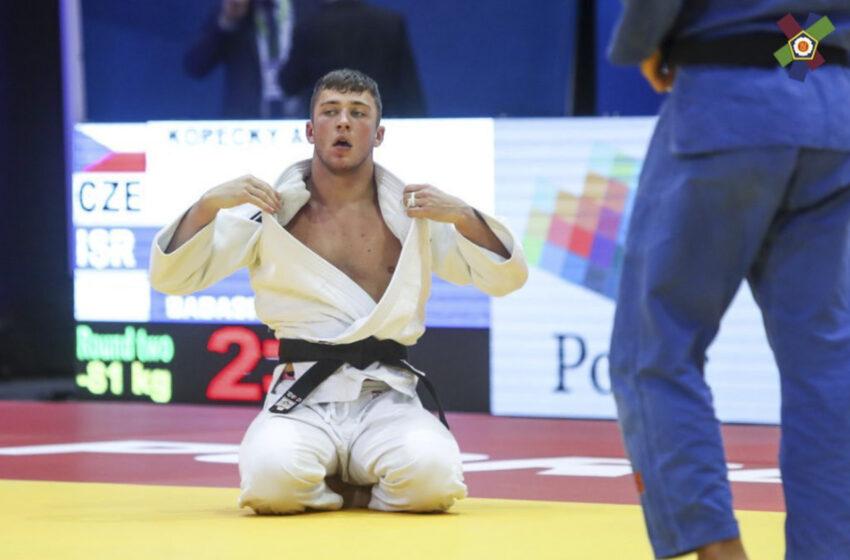 Úspěch boleslavského judisty Adama Kopeckého na mistrovství Evropy