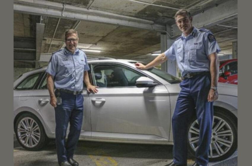 Novozélandští policisté budou jezdit ve škodovkách