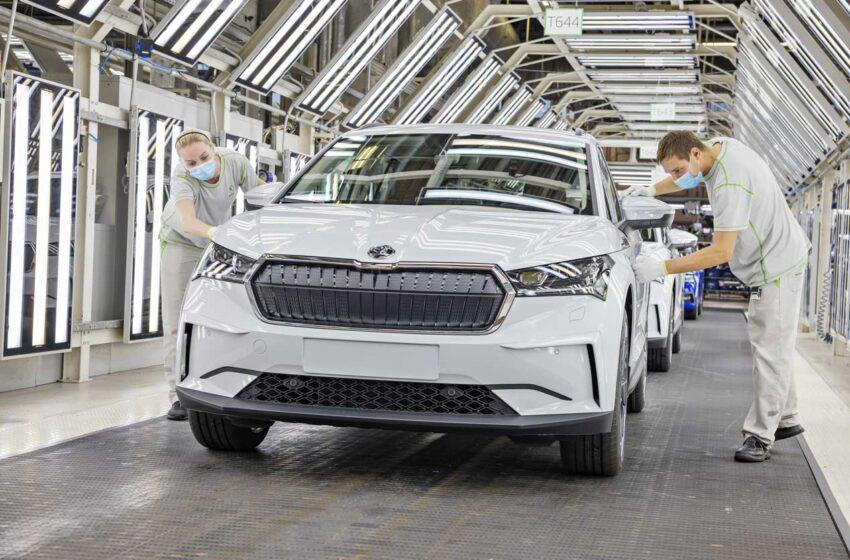 Škoda Auto v Mladé Boleslavi zahajuje sériovou výrobu modelu Enyaq