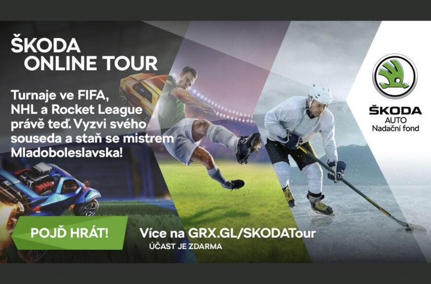 Škoda Online Tour: Staňte se gamingovým králem, či královnou Mladoboleslavska
