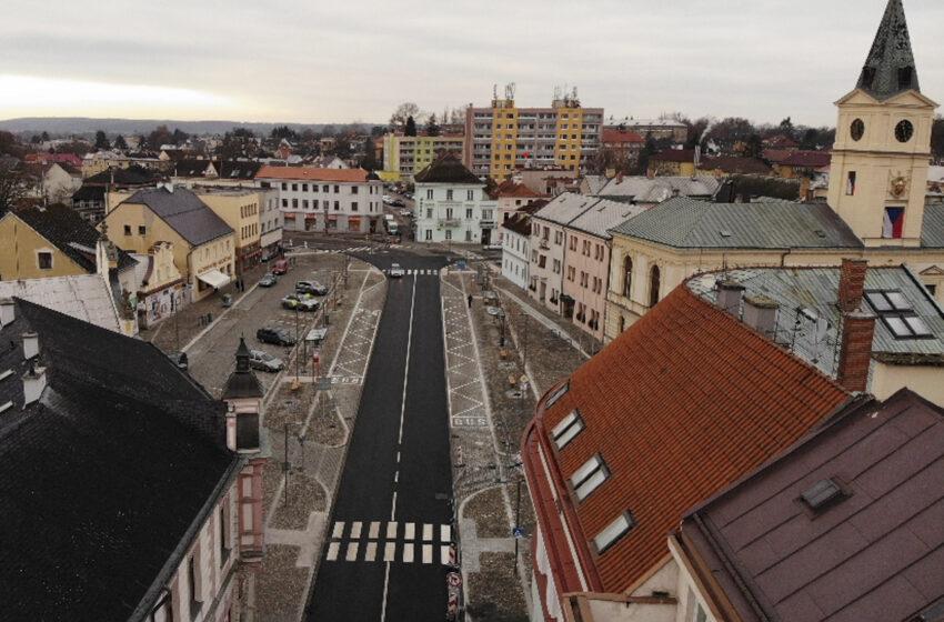 Mnichovo Hradiště dokončilo rekonstrukci jižní části Masarykova náměstí