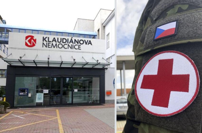 Do Klaudiánovy nemocnice má přijet na pomoc armáda