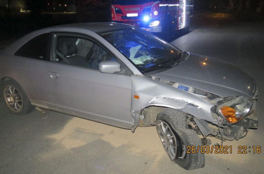 V Mladé Boleslavi havaroval opilý muž bez řidičáku