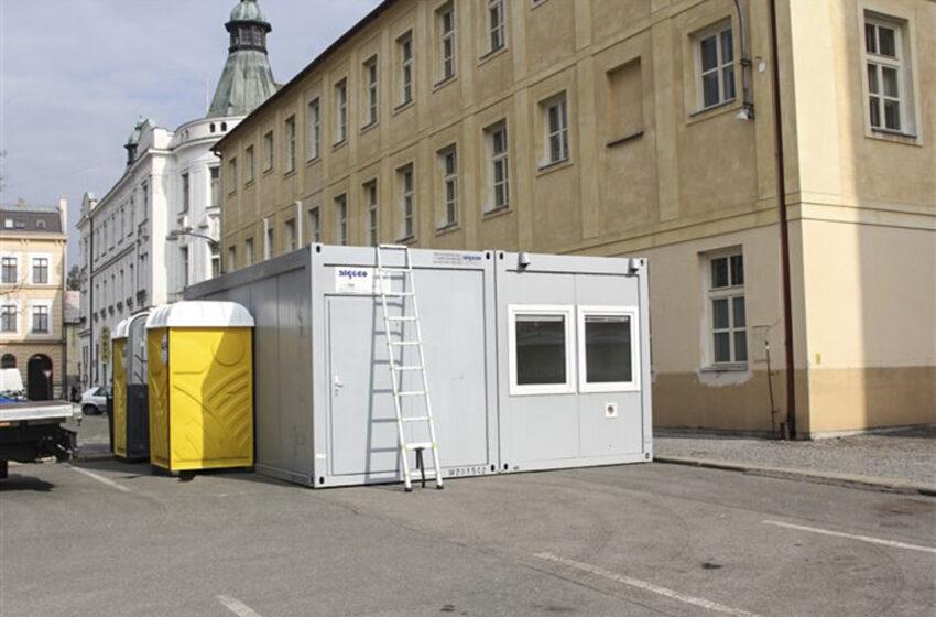 V Mladé Boleslavi na Komenského náměstí funguje nové testovací místo