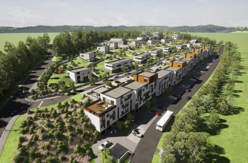 V Bělé pod Bezdězem vznikne nový areál s byty i rodinnými domy