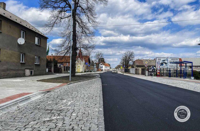 Rekonstrukce silnice v Bezděčíně omezí i nájezd na dálnici