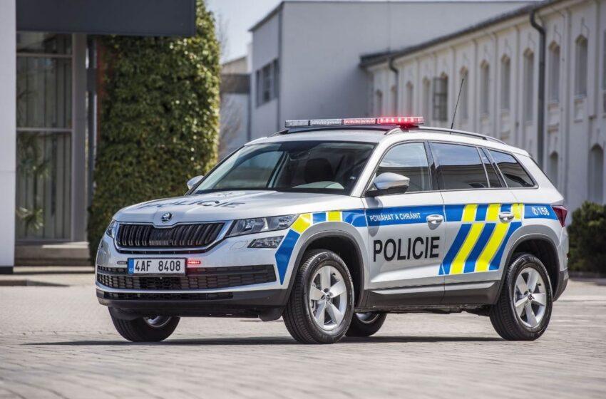 Škoda Auto přestaví 500 vozů Kodiaq pro potřeby Policie ČR